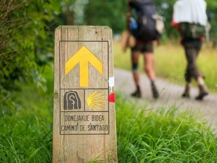 Indicazioni cammino di santiago in lingua basca