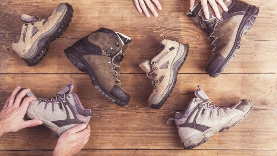 Tante scarpe da trekking