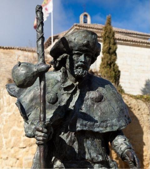 Statua di santiago a carrion de los condes
