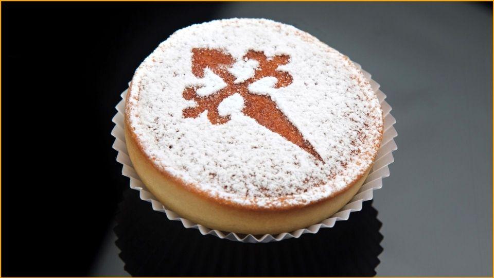 Una torta di Santiago