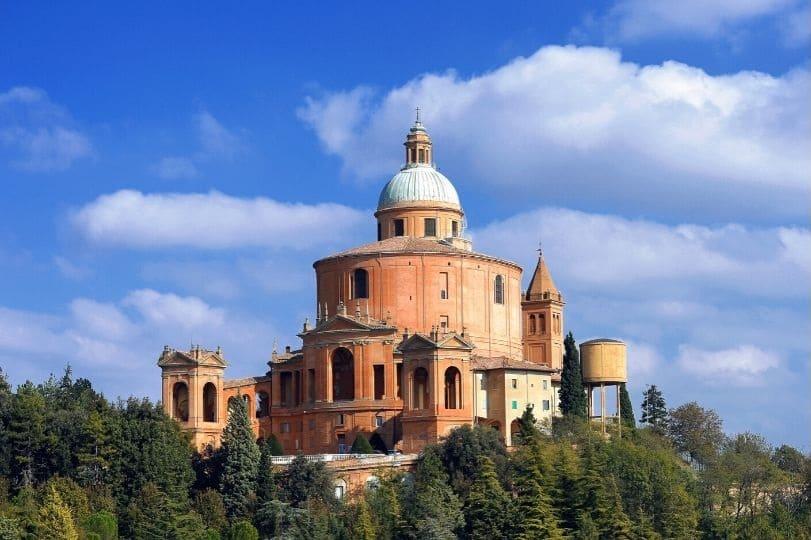 Basilica Madonna di San Luca a Bologna sulla Via degli Dei
