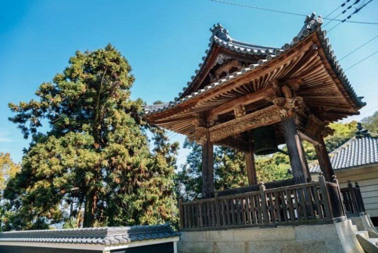 tempio sul Cammino degli 88 templi in Giappone