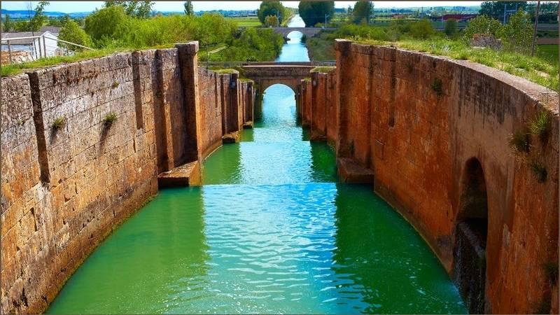 Il canale di Castilla a Frómista