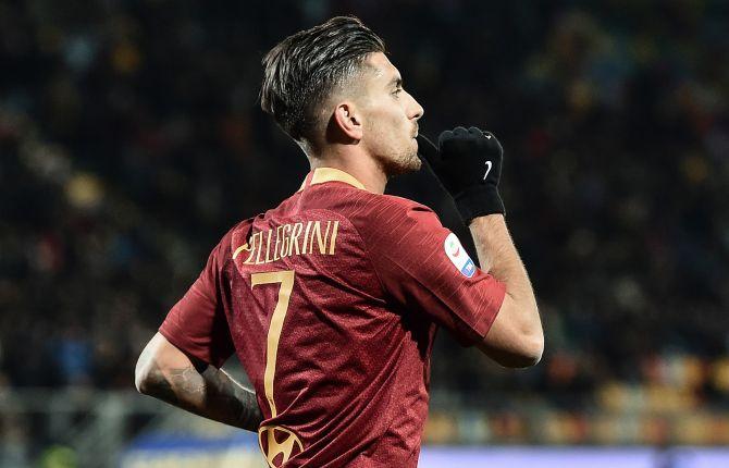 Lorenzo Pellegrini calciatore della Roma