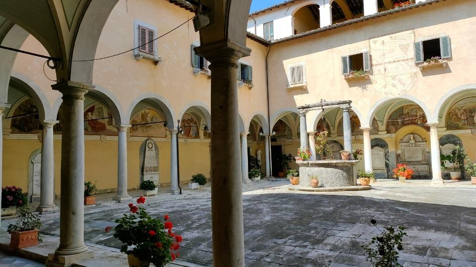 L'ostello di Pietrasanta sulla Via Francigena