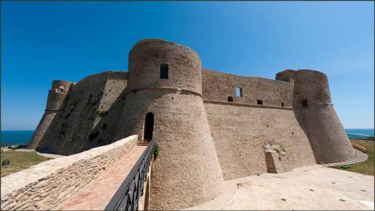 sentieri ditalia il castello argonese di ortona
