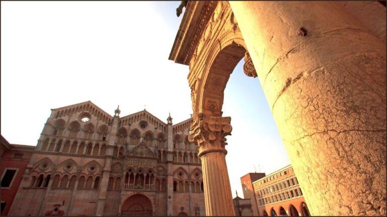 La Cattedrale di Ferrara tra i percorsi trekking in Emilia Romagna
