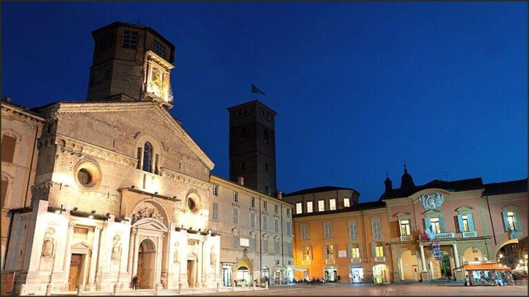 Piazza del Duomo a Reggio Emilia